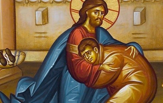 Prosebný moleben  ke Kristu milujícímu člověka