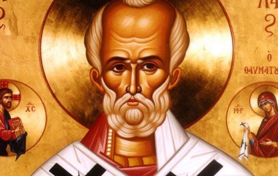 Moleben k našemu svatému otci  Mikuláši Myrskému, divotvůrci