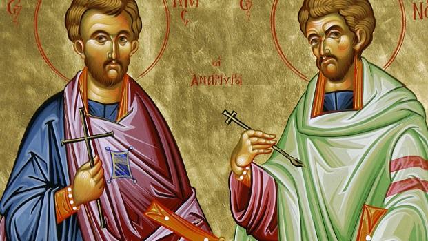 Moleben k našim ctihodným otcům Kosmovi a Damiánovi