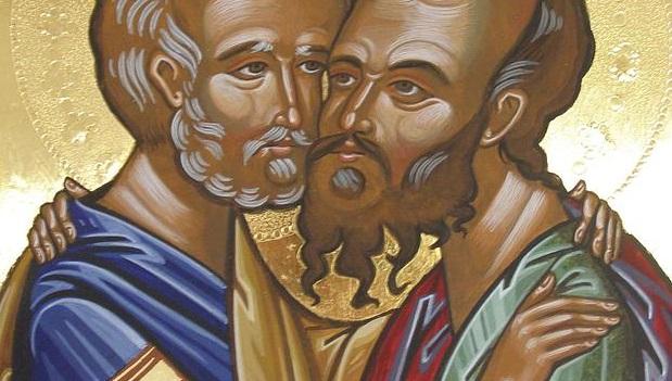 Moleben k našim svatým a všechvalným apoštolům Petrovi a Pavlovi