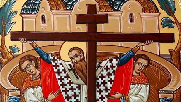 Moleben k uctění čestného a životodárného kříže
