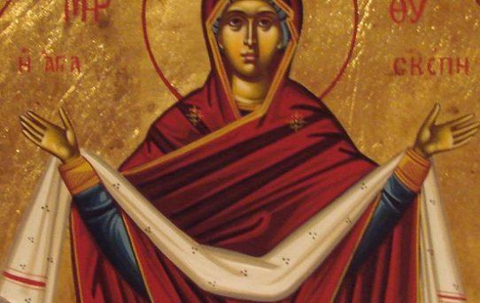 Moleben k Bohorodičce Panně Marii, ochránkyni křesťanského lidu