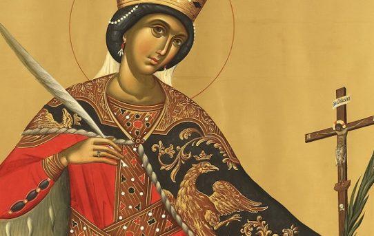 Moleben ke svaté Kateřině Alexandrijské