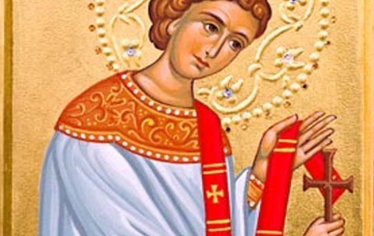 Moleben ke svatému prvomučedníkovi a diakonovi Štěpánovi