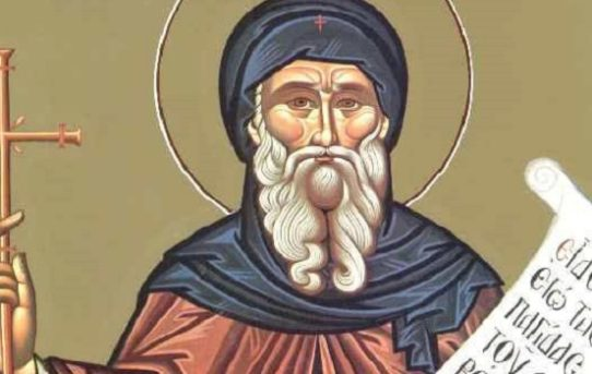 Moleben k ctihodnému a bohonosnému otci Antonínovi Velikému