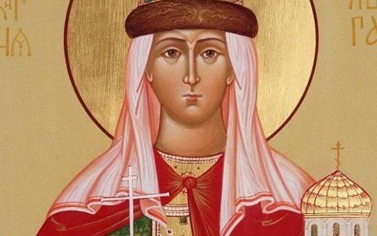 Moleben k svaté a apoštolům rovné Olze, kněžně kyjevské