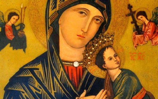 Moleben k Panně Marii, Matce ustavičné pomoci