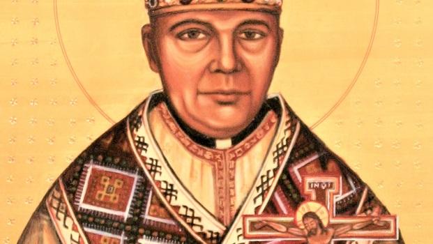 Moleben k našemu blaženému otci, biskupovi a mučedníkovi Vasilu Hopkovi, prvnímu faráři pražskému